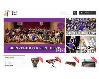Tienda online de Percufest