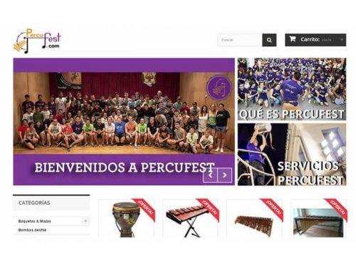 PercuFest: Tienda online