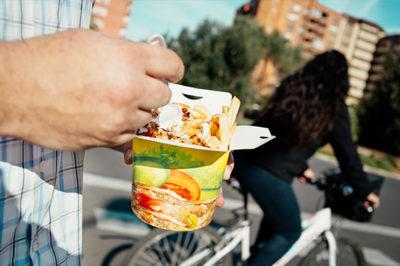Fotografia del box de comida turca de Sofra Valencia