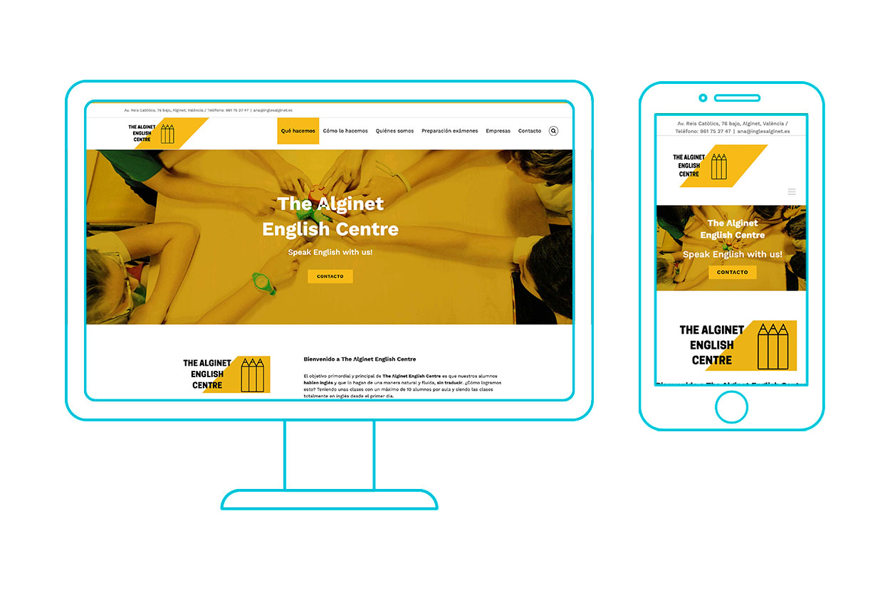 Wordpress the alginet english centre